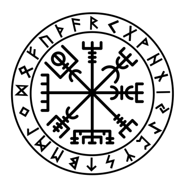 futhark-vegvisir-viking-sticker